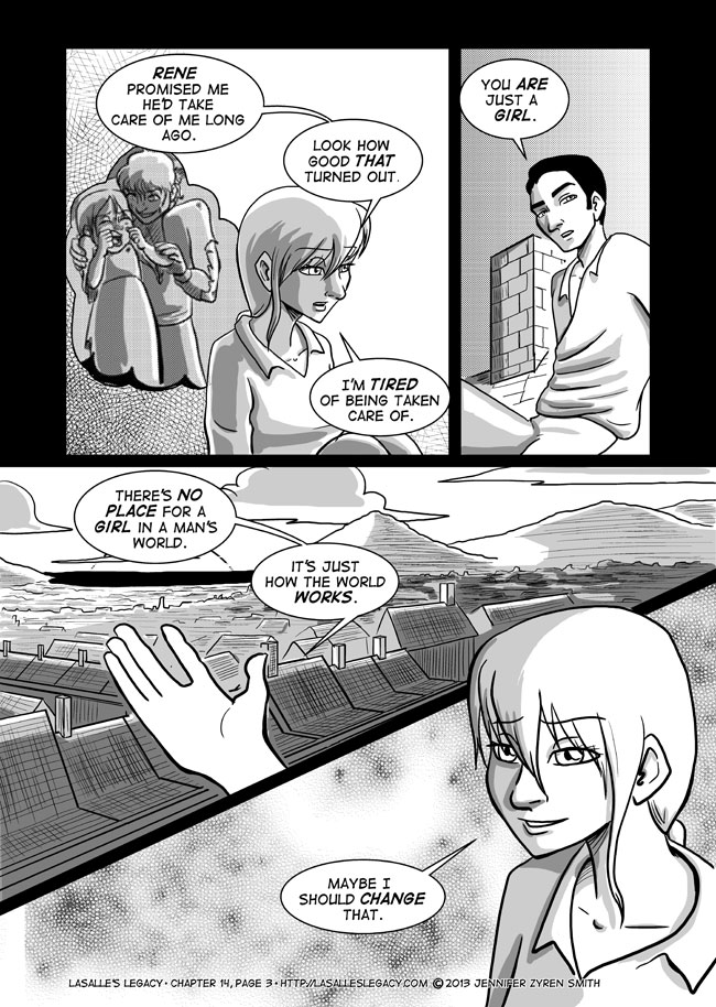 Murky Waters; Page 3