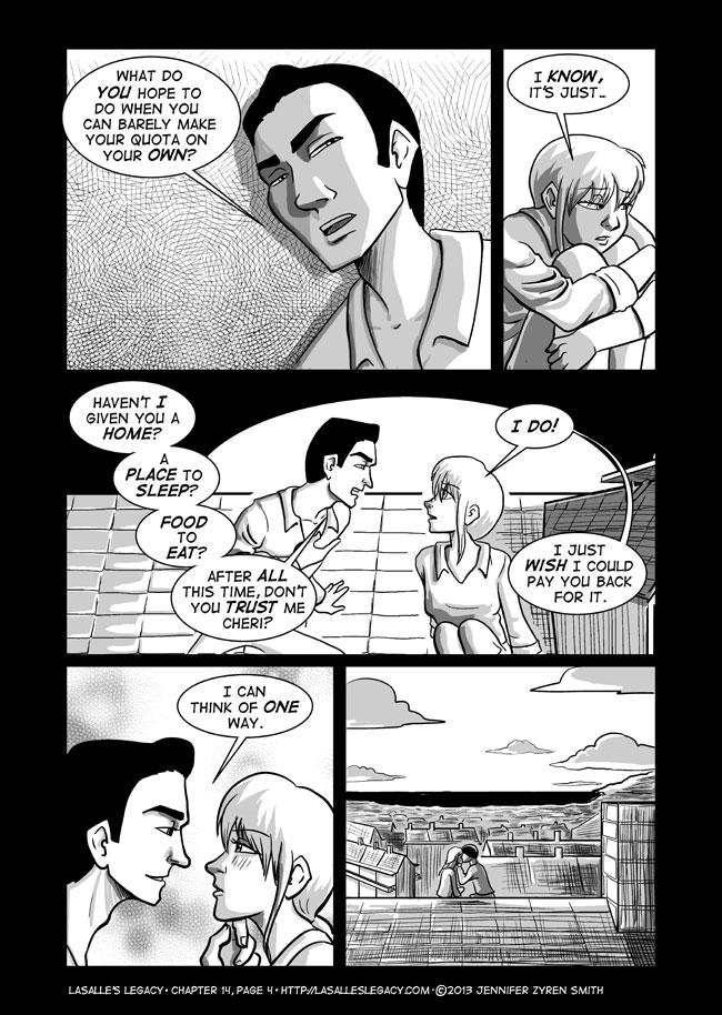 Murky Waters; Page 4